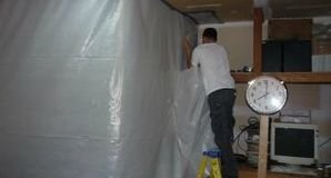 Using A Vapor Barrier To Remove Mold