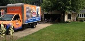 Mold Cleanup and Water Damage Removal Truck
