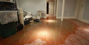 Flood In Living Room