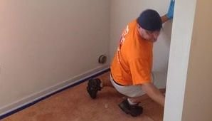 Water Damage Epping Technician Doing Final Checks