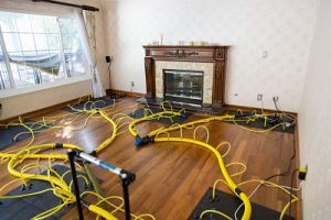 State of the art water damage equipment